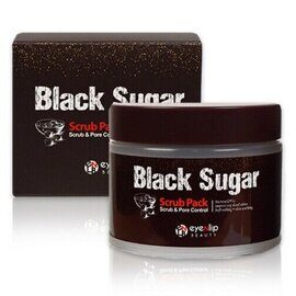 Скраб для лица Eyenlip с черным сахаром / Eyenlip Black Sugar Scrub Pack 100ml