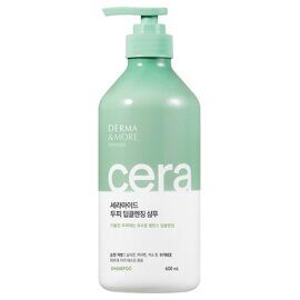 Шампунь для жирных волос – Derma & More Ceramide Deep Cleansing Shampoo 600ml