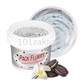 A'Pieu Маска-скраб для лица с печеньем / A'Pieu Pack Flurry Cookie & Cream 130g
