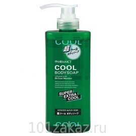 Pharmaact Гель для душа с ментолом / Pharmaact Super Extra Cool Menthol 600ml