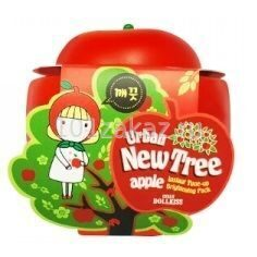 Baviphat Маска осветляющая с экстрактом яблока / Urban Dollkiss New Tree Apple Instant Tone-Up Brightening Pack 100g