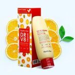 Пилинг-гель с комплексом витаминов – FarmStay DR.V8 Vitamin Brightening Peeling Gel 150ml