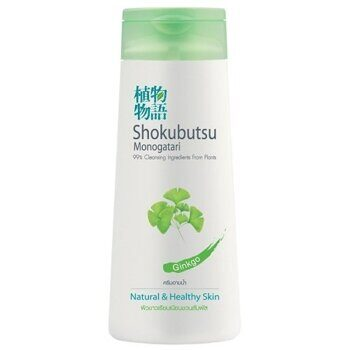 Крем-гель для душа 'Экстракт гинкго'. Lion Shokubutsu Ginkgo Shower Cream.