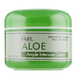 Крем для лица с экстрактом алоэ – Ekel Aloe Ample Intensive Cream 100g