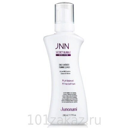 Пенка для интимной гигиены — Jungnani Secret Bubble Daily Lavender Feminine Cleanser 230ml