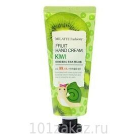 Крем для рук «Киви» Milatte Fashiony Fruit Hand Cream Kiwi