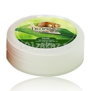 Крем Deoproce для лица и тела с улиткой / Deoproce Natural Skin Snail Nourishing Cream 100g