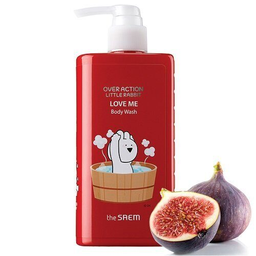 Гель для душа — The Saem Over Action Little Rabbit Love Me Body Wash 300ml