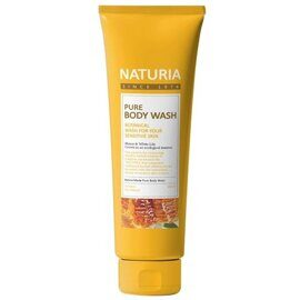 Гель для душа Мёд и лилия – Naturia Pure Body Wash Honey & White Lily 100ml