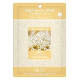 MJ Care Pearl Essence Mask маска для лица с экстрактом жемчуга, 1 шт