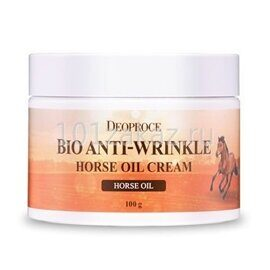 Deoproce Био-крем против морщин с лошадиным жиром / Bio Anti-Wrinkle Horse Oil Cream 100g