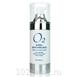 Deoproce Маска кислородная для лица осветляющая / O2 Bubble Brightening Mask 100ml