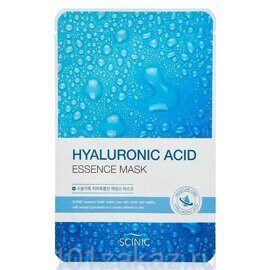 Scinic Маска для лица с гиалуроновой кислотой / Scinic Hyaluronic Acid Essence Mask