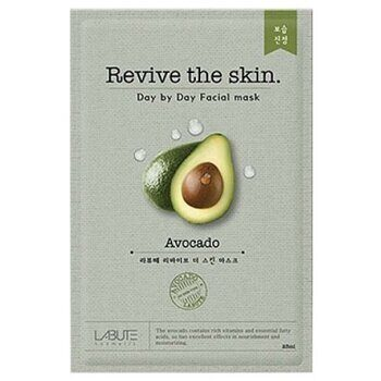 Тканевая маска с авокадо – Labute Revive the skin Avocado Mask