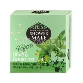 Shower Mate Мыло косметическое Оливковое / Shower Mate Soap Olive 100g