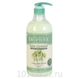 Гель для душа Deoproce с экстрактом акации / Deoproce Well-Being Aroma Body Cleanser Acacia 1000ml