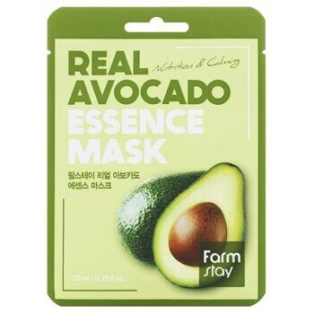 Маска тканевая с экстрактом авокадо – FarmStay Real Avocado Essence Mask