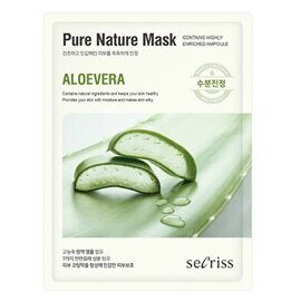 Тканевая маска для лица «Алоэ» — Secriss Pure Nature Mask Aloe Vera