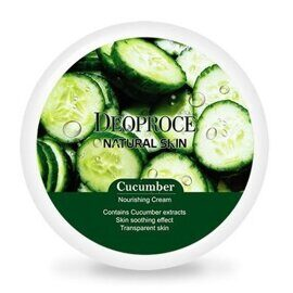 Крем для лица и тела Огурец – Deoproce Natural Skin Cucumber Nourishing Cream 100g