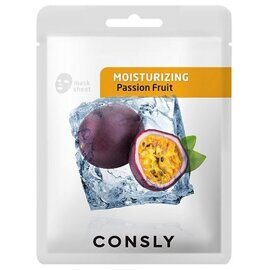 Тканевая маска с экстрактом маракуйи – Consly Passion Fruit Moisturizing Mask Pack
