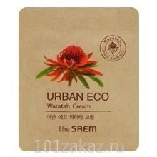 The Saem Urban Eco Waratah Cream крем для лица с экстрактом телопеи (пробник)