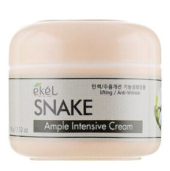 Крем для лица со змеиным ядом – Ekel Snake Ample Intensive Cream 100g
