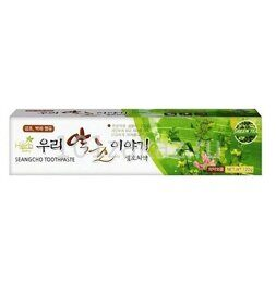 Our Herb Story Зубная паста с экстрактом зеленого чая / Our Herb Story Seangcho Green Tea Toothpaste 120g