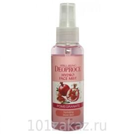 Deoproce Well-Being Hydro Face Mist Pomegranate увлажняющий мист для лица с экстрактом граната, 100 мл