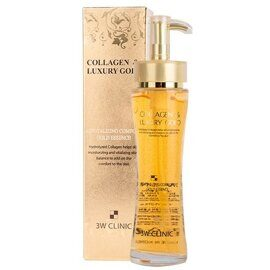 Эссенция для лица с коллагеном и золотом. 3W Clinic Collagen & Luxury Gold Revitalizing Comfort Gold Essence.