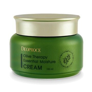 Крем увлажняющий с оливой – Deoproce Olive Therapy Essential Moisture Cream 100ml