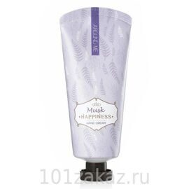 Welcos Крем для рук с экстрактом мускуса / Welcos Around Me Happniness Hand Cream Musk 60g