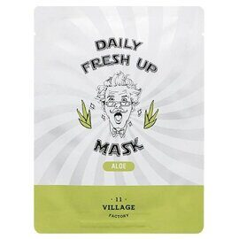 Тканевая маска с алоэ Village 11 Factory Daily Fresh Up Mask Aloe