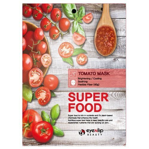 Тканевая маска для лица «Томат» — Eyenlip Super Food Tomato Mask