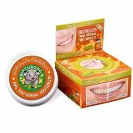 Зубная паста с анисом Binturong Anis Thai Herbal Toothpaste 33g