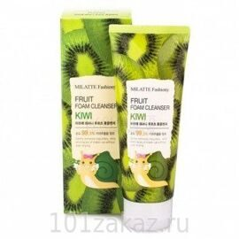 Пенка для умывания «Киви» – Milatte Fashiony Fruit Foam Cleanser Kiwi 150ml