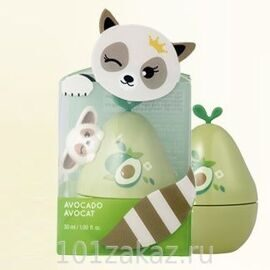 The Face Shop Крем для рук с маслом авокадо / The Face Shop Hold Me Hand 02 Lesser Panda 30ml