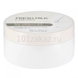 The Face Shop Daegwallyeong Fresh Milk Cream освежающий крем для лица и тела с экстрактом молока, 300 мл
