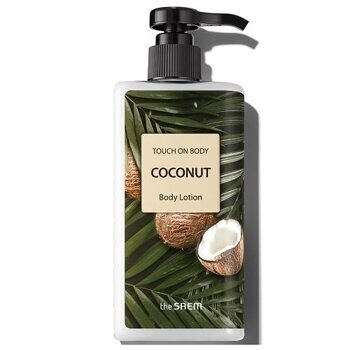 Лосьон для тела с кокосом – The Saem Touch On Body Coconut Body Lotion 300ml