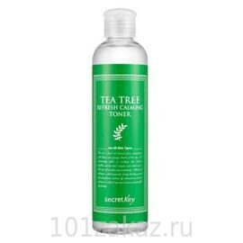 Secret Key Tea Tree Refresh Calming Toner тоник для проблемной кожи с экстрактом чайного дерева, 248 мл