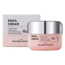 Крем для лица с муцином улитки Village 11 Factory Snail Cream