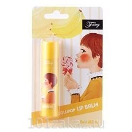 Fascy Lollipop Banana Lip Balm бальзам для губ с экстрактом банана, 3,9 г