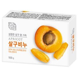 Мыло туалетное «Абрикос» – Mukunghwa Apricot Nature & Beauty Soap 100g