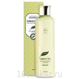 Deoproce Premium Green Tea Total Solution Emulsion эмульсия для лица с экстрактом зеленого чая, 260 мл