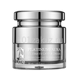 Крем антивозрастной Ottie с икрой и платиной / Ottie Platinum Aura Ultimate Caviar Cream 50ml