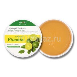 Патчи для глаз с каламанси — Eyenlip Calamansi Vitamin Hydrogel Eye Patch