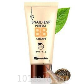 Secret Skin ББ-крем с муцином улитки / Snail+EGF Perfect BB Cream SPF50+ PA+++ 50ml