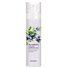 Мист для лица гелевый «Черника» — Deoproce Blueberry Vitalizing Water Jelly Mist 150ml
