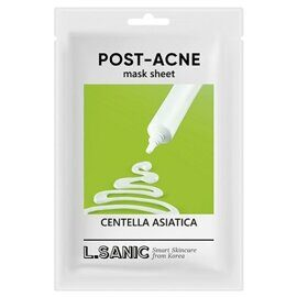 Тканевая маска против постакне с центеллой азиатской — L'Sanic Centella Asiatica Post-Acne Mask Sheet