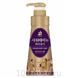 Гель для душа Mukunghwa с вулканической лавой / Mukunghwa Jeju Volcanic Scoria Shower Body Soap 500ml