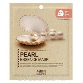 Mijin Pearl Essence Mask маска для лица с экстрактом жемчуга, 1 шт